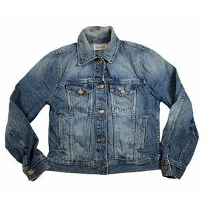 Madewell The Jean Jacket Style #A3196  Med Wash